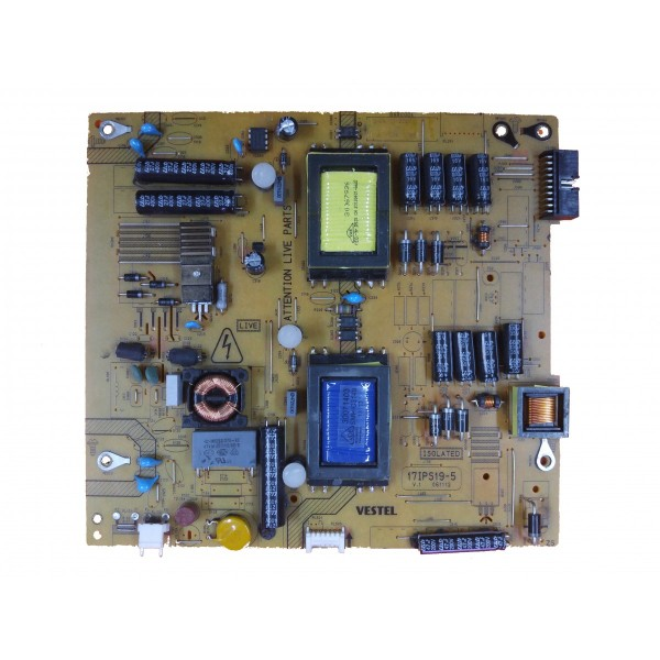 17IPS19-5 V.1, 23121917 , 23121920 , VESTEL POWER BOARD, BESLEME KARTI